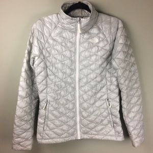 North Face Thermoball Quilted Full Zip Jacket
